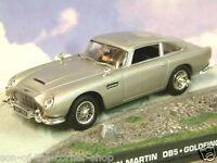 Druckguss 1/43 James Bond 007 Aston Martin Db5 in Silber Goldfinger Alpen Jagd