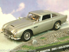 De Metal 1/43 James Bond 007 Aston Martin Db5 en la Plata Goldfinger Alpes