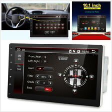 "OBDII 2 Din 10.1"" Android 7.1 16GB Car Stereo GPS Bluetooth FM/AM WIFI Head Unit"