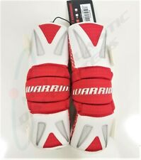Warrior Burn Lacrosse Segmented Arm Pads Large Red and White Bap13-L