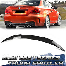 Carbon 2DR Coupe BMW E82 M4 Stlye Rear Trunk Spoiler 07-13 135i 120i
