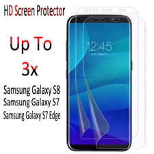 PET Mobile Phone Screen Protectors for Samsung Galaxy S7 edge