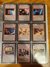 Star Wars CCG Tatooine Complete Set with AIs, rules & checklists