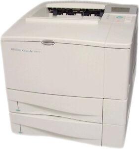 HP LaserJet 4000tn 4000 tn A4 Desktop Mono Network A4 Laser Printer + Warranty