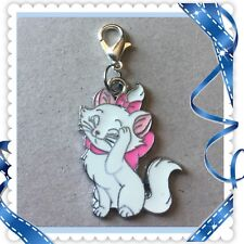 ❤️ Disney Marie The Cat ❤️ Zipper Pull Charm with Lobster Clasp /Brand New #1