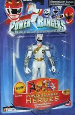 "Power Rangers Wild Force Heroes Series 14 White Ranger New 5"" Factory Seal 2006"