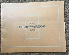 1920 Pierce Arrow Brochure