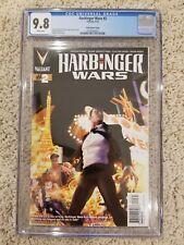 VEI Harbinger Wars 2 Crain 1:20 Variant CGC 9.8 # 2 RARE. Valiant Entertainment