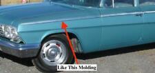 NOS CHEVROLET 1962 BEL AIR FRONT FENDER MOLDING DRIVER SIDE   16