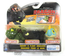 How To Train Your Dragon 2 Water Meatlug Toothless Stormfly Walmart Exclusive