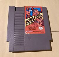 Donkey Kong Classics - NES - Nintendo Entertainment System video game - CLEANED