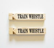 Wooden Train Whistle for sale | eBay
