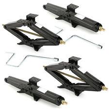 """Set of 4 5000LB 24"""" RV Camper Scissor Leveling Jacks Trailer Stabilizer w/Handle"""