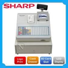 Sharp XEA217W Cash Register /w Flat Keyboard+E-Journal & Receipt Printer RRP$949
