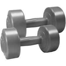Grey Dumbbells Weights 2x5KG 10KG Gym Weights Dumbells