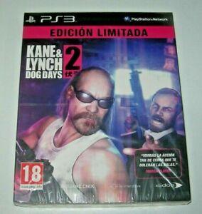 Kane & Lynch 2: dog days PS3 (PAL España precintado)