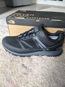 The North Face Litewave Futurelight Black Running Trainers Men Shoes Size 9