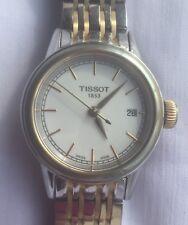 TISSOT Carson White Dial Two-tone Ladies Watch T0852102201100