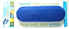 Beach Chair Carry Strap in Blue Adjustable 37 in to 58 in 092457