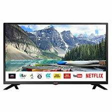 Sharp 1T-C32BC3KH2FB 32 inch Smart HD Ready LED TV with Freeview Play Black
