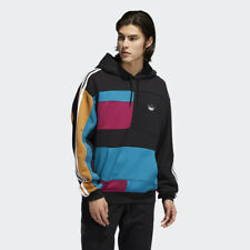 adidas Men's Originals Asymmetric Block Trefoil Hoodie ED5608