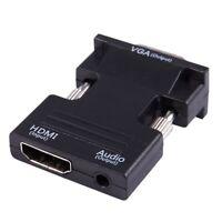 1080P MI Femelle Vers VGA Mâle avec Adaptateur de Convertisseur de Câble de V1X3