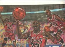 "1992 Classic Sports Art Print Michael Jordan Chicago Bulls 11 x 17"" J. McLean"