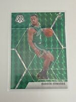 2020 Panini Carsen Edwards LOT Green Mosaic Prizm & Rookie Base *see photos*