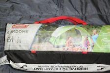 Coleman Dome Tent for Camping   Sundome Tent with Easy Setup 2 to 6 person tent
