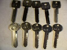 2  SET   FORD    H50 & H51    DEPTH  KEYS  1-5            LOCKSMITH
