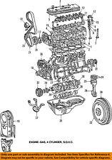 TOYOTA OEM 87-98 Tercel Crankshaft Crank-Pulley 1347011030
