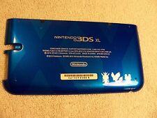 Blue Pokemon Nintendo 3DS XL Housing Back/Bottom Battery Cover Shell Repair Part