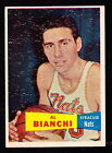 1957-58 TOPPS #59 AL BIANCHI NATIONALS ROOKIE