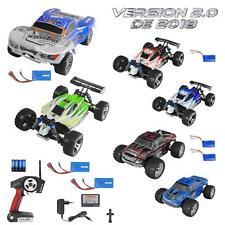 Rayline WLtoys V2 RC Buggy Truggy Monstertruck 1:18 4WD Modellbau Spielzeug RTR