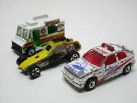 Vintage Matchbox Cars And Trucks Lot Of 3 1980's