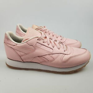 Women's REEBOK 'Classic Leather' Sz 7 US Shoes Pink VGCon   3+ Extra 10% Off