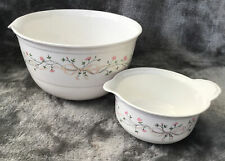 More details for vintage johnson bros eternal beau melamine mixing bowls immaculate