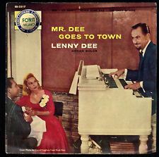 SAN , MY BUDDY - DOWN HOME RAG , THIS CAN'T BE LOVE # LENNY DEE AND HIS D-MEN