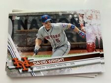DAVID WRIGHT 2017 Topps Holiday 9-card LOT Mets #HMW68