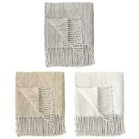 Tassel Throw Blankets Nepal Retro Chain Super Soft Throws 130cm x 170cm