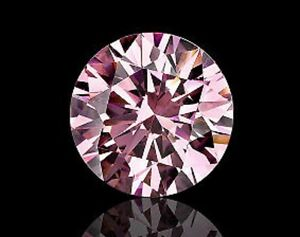 Argyle Pink Diamonds - Certified - Argyle Lot Number - Round - Natural+Untreated