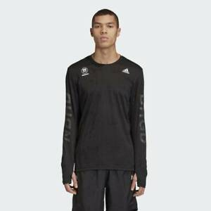 adidas x Neighborhood (NBHD) Run Tee Black RRP £120 Brand New FQ6818 RARE