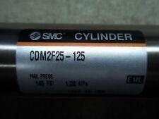 (Q2-3) 1 Smc Cdm2F25-125 Double Acting Cylinder 145 Psi Max