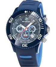 BMW Genuine Motorsport Chrono ICE Watch Wrist Watch Silicone Strap Waterproof