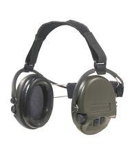 MSA Supreme Pro Gehörschutz Nackenband Grüne Cups Schaumkissen