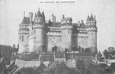 60 PIERREFONDS le chateau