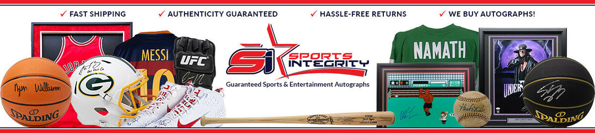 Authenticated Sports Memorabilia