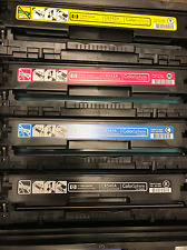 HP Genuine OEM Toner CB540A CB541A CB542A CB543A CM1312 CP1515 CP1215 58 57 55 5