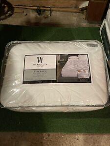 Wamsutta Double Support Technology Luxury Full Fiberbed in White