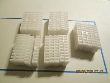 25 Pieces - White Plastic Loading, Filling, Reloading, Tray.